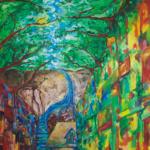 2017 | Auftragsbild U. Neukom | 83.5×83.5cm