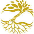 2019 | voll&ganz | Logo gold
