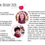 2020 | HumorDessert | Flyer A5 Rückseite