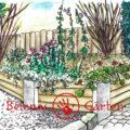 2020 | Belenos Gärten | Faltkarte Front