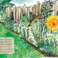 2020 | Belenos Gärten | Faltkarte Rücken